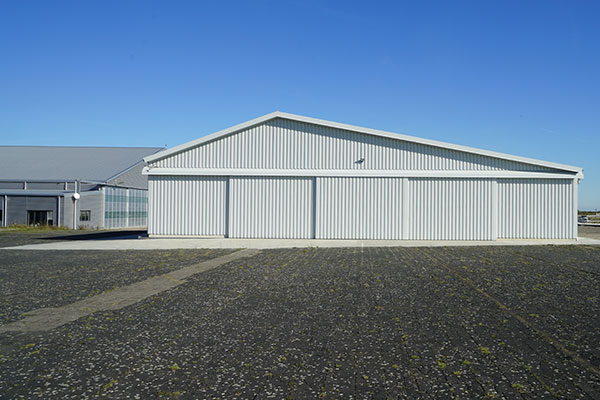 ALTO Hangar in Mainz-Finthen